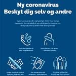 Beskyt dig selv og andre - Coronavirus 09032020